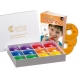 4-hole Rainbow Box with Book 2 + CD