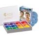 4-hole Rainbow Box with Carols + CD