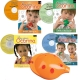 Orange 4-hole Oc with Book 1, Book 2, Carols, Songs of Praise + CDs