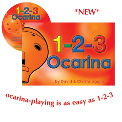 1-2-3 Ocarina with CD