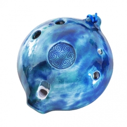 Ceramic Bass D Ocarina