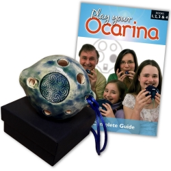 Ceramic Alto D Ocarina and Complete Guide