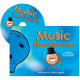 Adventurous Music-Making Time-Traveller with CD