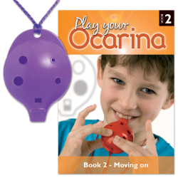 4-hole Oc with Play Your Ocarina Book 2