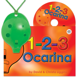 4-hole Oc + 1-2-3 Ocarina and CD – Mixed colours