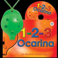 4-hole Oc + 1-2-3 Ocarina and CD –Mixed colours