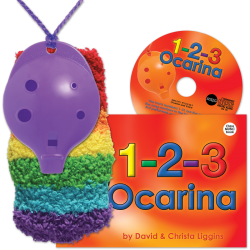 4-hole Oc with 1-2-3 Ocarina and CD + OcSock