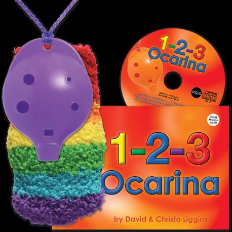 4-hole Oc with 1-2-3 Ocarina and CD + OcSock