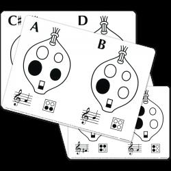 Ocarina Flashcards