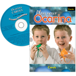 Play your Ocarina Carols + CD