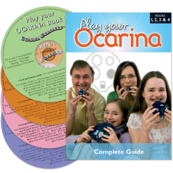Play your Ocarina Complete Book + 4 CDs
