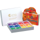 4-hole Rainbow Box with 1-2-3 Ocarina + CD