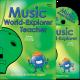 Music World-Explorer Teacher with CD and Class Music Book
