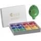 Rainbow box of 12 x 6-hole Oc