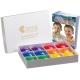 4-hole Rainbow Box with Carols