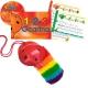 Red 4-hole Oc with 1-2-3 Ocarina and CD + OcSock