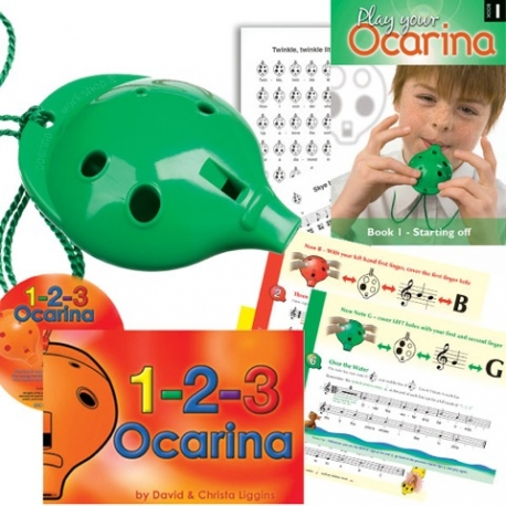 1-2-3 Ocarina CD Trial Pack
