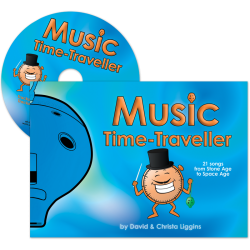 Adventurous Music-Making Music Time-Traveller + CD