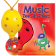 Yellow 4-hole Oc with Music Zero-to-Hero and CD