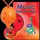Orange 4-hole Oc with Music Zero-to-Hero and CD