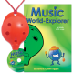 Red 4-hole Oc with Music World-Explorer and CD