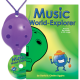 Purple 4-hole Oc with Music World-Explorer and CD
