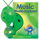 Green 4-hole Oc with Music World-Explorer and CD