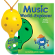 Yellow 4-hole Oc with Music World-Explorer and CD