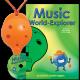 Orange 4-hole Oc with Music World-Explorer and CD
