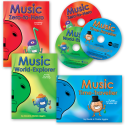 Adventurous Music-Making 3 Books + 3 CDs
