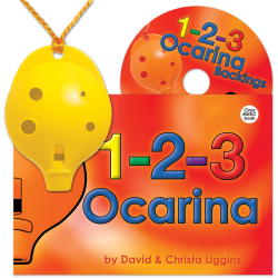 4-hole Oc with 1-2-3 Ocarina and CD
