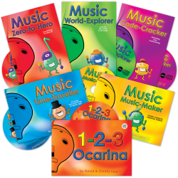 Adventurous Music-Making Books with CD
