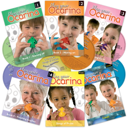 Play your Ocarina Books with CD
