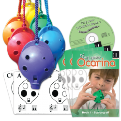 30 Sets of 4-hole Oc and Book 1 with Flashcards