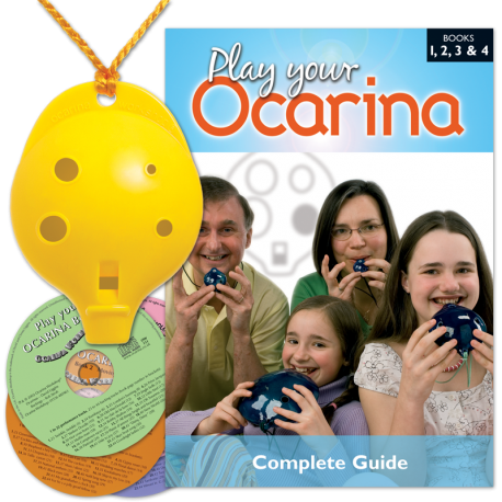 6-hole Oc + Complete Guide and 4 CDs