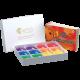 4-hole Rainbow Box with 1-2-3 Ocarina