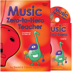Music Zero-to-Hero Teacher with CD and Class Music Book
