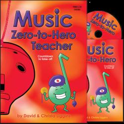 Music Zero-to-Hero Teacher with CD and Class Music Book