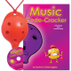 Red 4-hole Oc with Music Code-Cracker and CD
