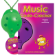 Green 4-hole Oc with Music Code-Cracker and CD
