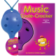 Blue 4-hole Oc with Music Code-Cracker and CD