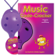 Purple 4-hole Oc with Music Code-Cracker and CD