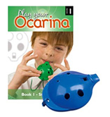 4-hole Ocarina & Books